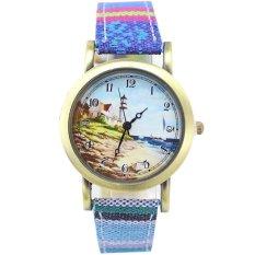 Ormano - Jam Tangan Wanita - Multicolor - Kanvas - Sea Expression Watch