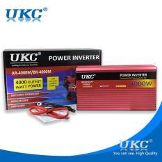 OSMAN UKC 4000W Solar Car Power Inverter DC 12V To 220V Power Adapter Car Charger