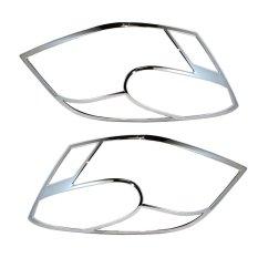 Autofriend Garnis Depan Head Lights Cover Pelindung Body Suzuki Karimun Wagon R Variasi Aksesoris Eksterior Mobil - AI-CBB-3134