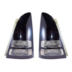 OTOmobil Stop Lamp Tail Lights Toyota Innova 2005-2014 - SU-TY-11-INV-BSS - Black/Smoke - Set
