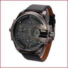 Oulm Analog Quartz Men Leather Band Fashion Watch - 3790