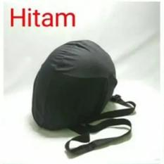 OVER HELM ANTI AIR - Raincoat - Jas Hujan Helm Tas Helm Sarung Helm - Hitam