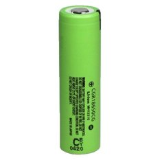 Panasonic Lithium Ion Cylindrical Battery Flat Type 2250mAh with Flat Top - CGR18650CG - Hijau