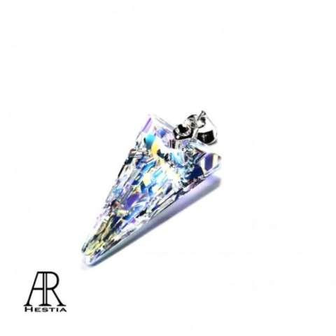 ... Fake Piercing - Anting Piercing - 8mm. Source. ' Perhiasan Kalung Liontin Swarovski - Medium Spike Pendant By AR Hestia