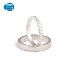 PH7 Desain Asli 925 Silver Jewelry Ring Atap Minimalis GUI Madu Cincin Beberapa Handmade Di Ring (Pria 17 # A Saja) -Intl