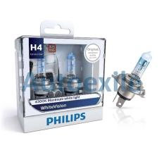 Philips White Vision H4 12V 60/55W 4300K WhiteVision - Lampu Depan Mobil