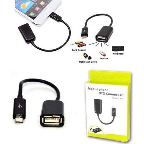 Phone Holder Motor Universal HP / GPS + Bonus Kabel OTG Micro Usb
