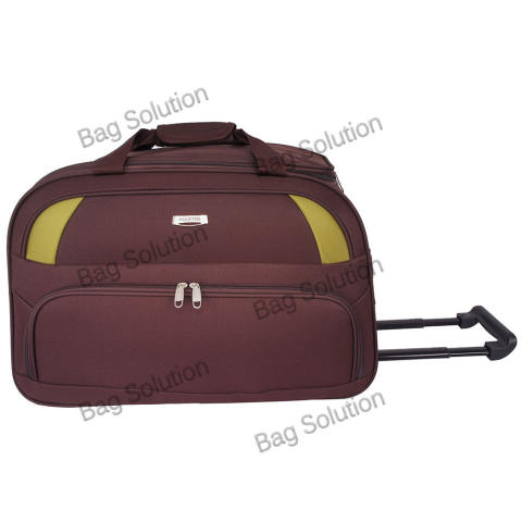 Polo Hunter Tas Kabin Trolley - Duffle Bag with Trolley - Travel Bag Trolly Tas Pria