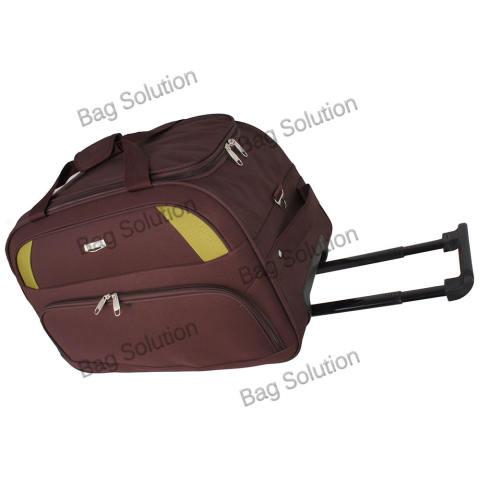 Polo Hunter Tas Kabin Trolley - Duffle Bag with Trolley - Travel Bag Trolly  Tas Pria 0104196eeb