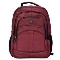 Polo Team Tas Ransel Laptop + RAIN COVER 1021 - Merah