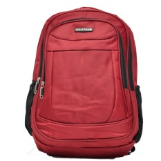 Polo Team Tas Ransel Laptop + RAIN COVER 3613 - Merah