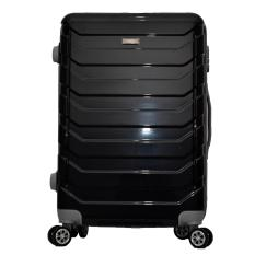 Polo Team Tas Koper Kabin Hardcase 4 Roda Putar Size 20 inch 8705- Hitam