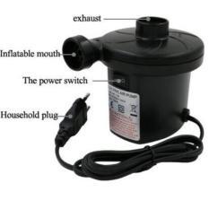 Pompa Angin Listrik / Pompa Udara Listrik 2 in 1 Praktis Dapat Menyedot Udara