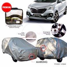 Premium Body Cover / Sarung Pelindung Penutup / Selimut Mobil Aksesoris Impreza Avanza / Xenia - Gray