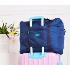 Prime Foldable Travel Bag Tas Mudik Hand Carry Bag - Biru Navy