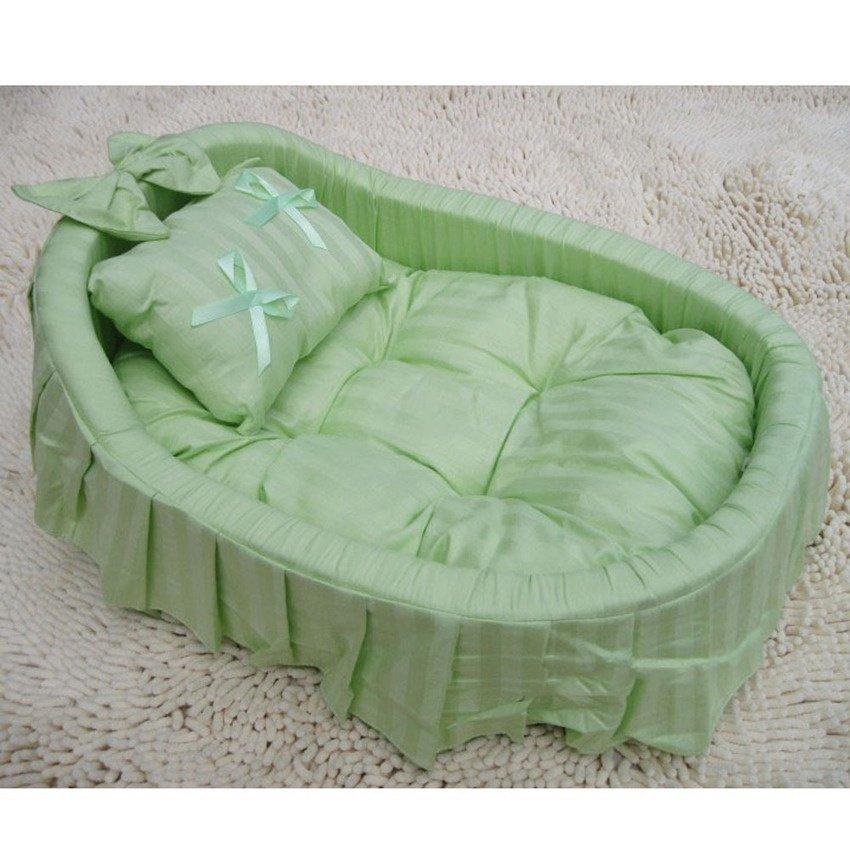 ... Aksesoris Putri 100% Katun Pet Anjing Kucing Kucing Handmade Bed House Sofa4colors Ukuran-Intl