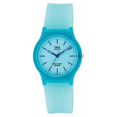 Watch QQ6J036Y Rubber Strap Jam Tangan Wanita - Grey dan Spesifikasinya. Source .