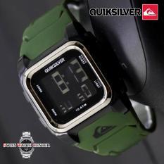QuikSilver Digital - Jam Tangan Sport Pria Dan Wanita [ UNISEX ] - Rubber Strap - Jam Tangan Modis