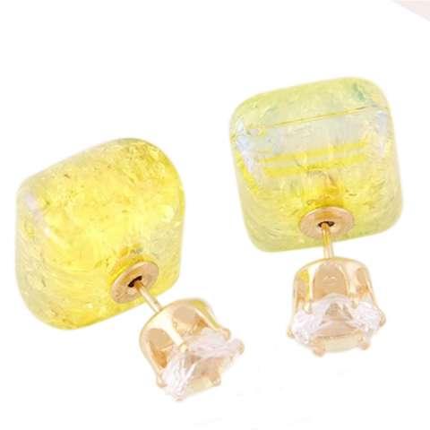 RAT7545 - Aksesoris Anting Box Flash Diamond