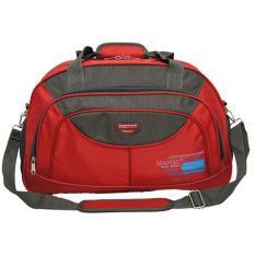Real polo Travel Bag - duffle bag Tas Pria Tas Wanita - Tas pakaian multi fungsi (Tas jinjing Dan Tas Selempang) 6301 - Merah