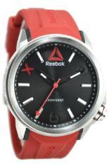 Reebok RD-FLA-G2-S1IR-BR Jam Tangan Pria - Merah/Silver