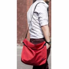 Remax Fashion Laptop Bodypack Shoulder Bags Tas Selempang Pria Men Sling Bag Tas Bahu Buat Ipad Buku Smartphone Foldable Fashion Stylish Design Trendy Cocok Untuk Travel Jalan Rekreasi Kuliah Sekolah Kerja - Merah
