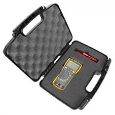 RUGGED Digital Multimeter Carrying Travel Hard Case dengan Busa Padat-Cocok Fluke 115, Fluke 117, 87-V, 177, 116, 114, 113-Intl