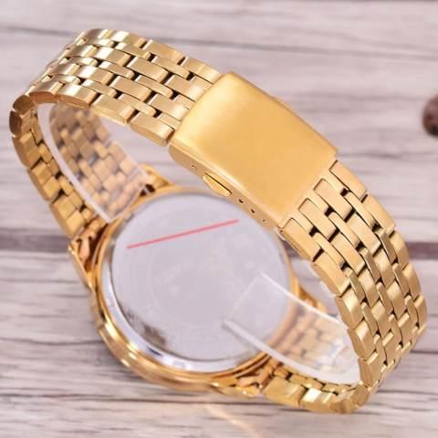Saint Costie Original Brand - Jam Tangan Wanita - Body Gold – Gold Dial – Stainless