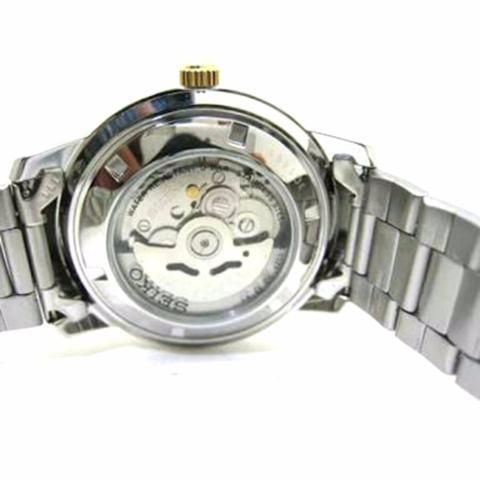 Seiko 5 Automatic - Jam Tangan Pria - Silver - Stainless Steel - 29NKNS