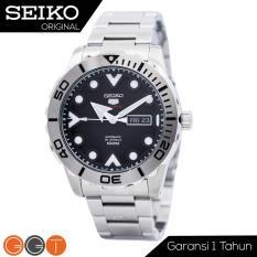 Seiko 5 Sport Automatic – Jam Tangan Pria – Strap Stainless Stell – SRPA03K1 – Black