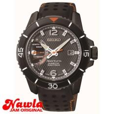 Seiko Sportura SRG021P1 Kinetic Direct Drive Black - Jam Tangan Pria SRG021 PRM