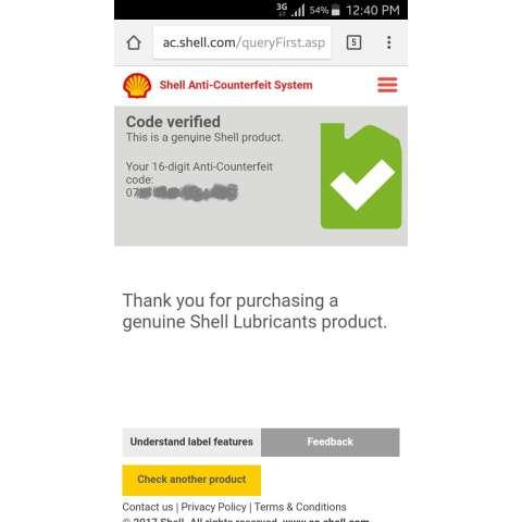 Shell Helix HX5 15W 40 API SN 4 Liter