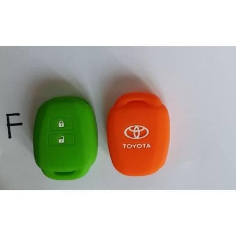 Silicon Kunci mobil - Caver Kunci - Sarung Kondom Remot TOYOTA YARIS LAMA 2 TOMBOL