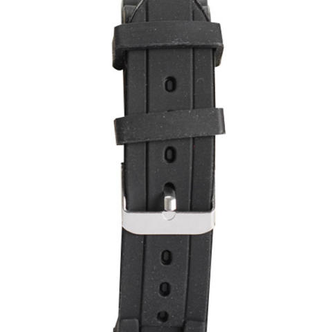 Silicone Jelly QUARTZ Sports Wrist Watch Unisex Bergaya Yang Tepat Hitam-Intl 1