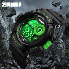 SKMEI  merek Fashion Watches Watch G gaya olahraga kasual LED Black Light Watch Shock Resistant Digital jam tangan Mens olahraga Watches1222 - intl
