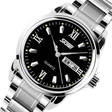 merek Watch 9082 Men's Fashion Waterproof otomatis Stainless Steel mewah Clock Jual obat anti rayap kualitas