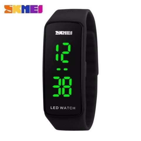 SKMEI Sport Rubber LED Watch 1119 Water Resistant Anti Air WR 50m Jam Tangan Olahraga Digital