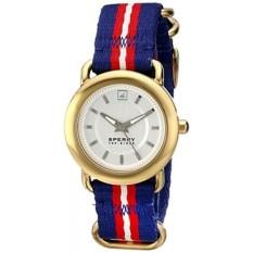 Sperry Top-Sider Womens 10014924 Hayden Watch dengan Blue Berselaput Band-Intl