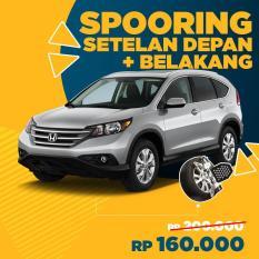 Spooring Setelan Depan + Belakang + Free Check-up 58 Komponen Kendaraan