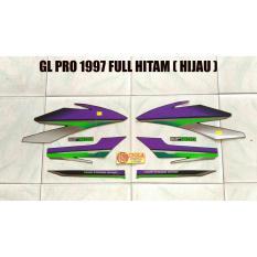 Striping GL PRO 1997 Full Hitam ( Hijau )