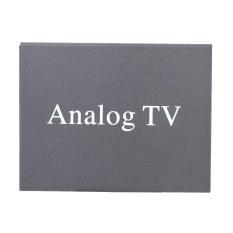 Super Mini Desain Logam DVB Car DVD TV Receiver Instalasi Mudah Monitor Analog TV Tuner Sinyal Kuat Box dengan Antena -Intl