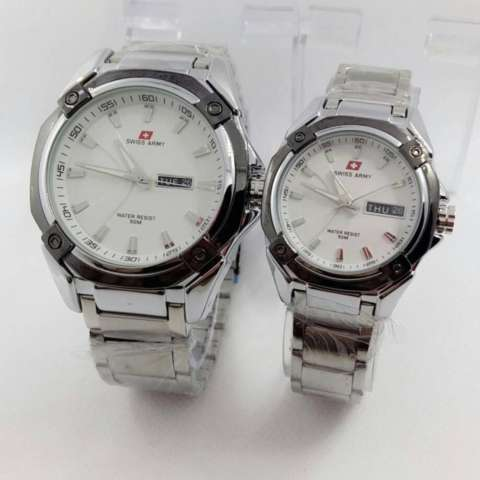 Swiss Army Couple Watch - Stainless Steel - Swiss Army SA5169