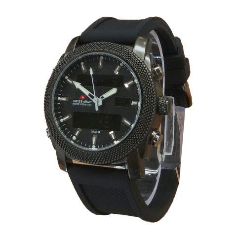 Stainless Steel Sa 079 Nn Source · Swiss Army Dual Time Jam Tangan .