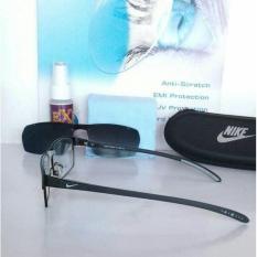 Terbaru Frame Kacamata Nike 7508 Clip On Polarized/Kacamata Minus/Baca/Super - Kdstr