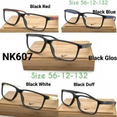 Terbaru Frame Kacamata Nike Nk601 Black Doff Kacamata Minus - Kdstr