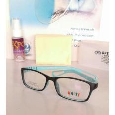 Terbaru ( Frame+Lensa) Frame Kacamata Anak Anak Happy/Kacamata Minus/Unisek - Kdstr
