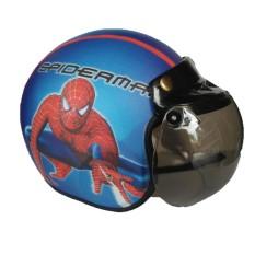 The Musketeer - Helm Anak Bogo Usia 4-7 Tahun Spiderman Biru