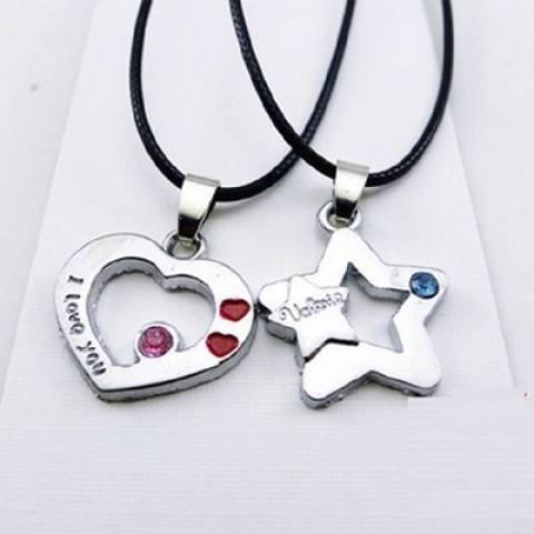 Kalung Kunci Pecinta Kehidupan Cinta Kunci untuk Mourn untuk Fall Kreativitas Kunci Rantai Tulang Pria wanita Digabungkan dengan untuk Menghias Teman Perempuan'S Hadiah untuk Mengobati-Internasional 3