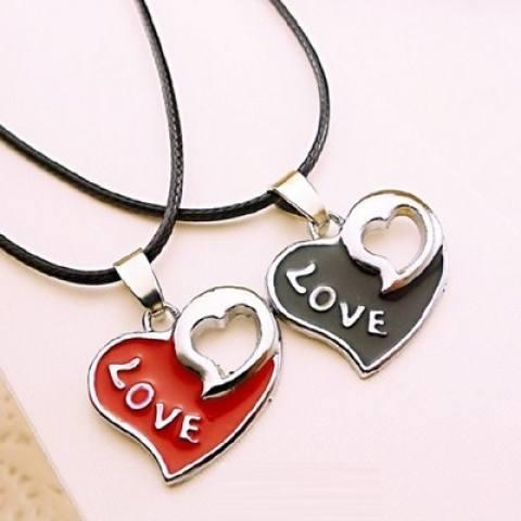 Kalung Kunci Pecinta Kehidupan Cinta Kunci untuk Mourn untuk Fall Kreativitas Kunci Rantai Tulang Pria wanita Digabungkan dengan untuk Menghias Teman Perempuan'S Hadiah untuk Mengobati-Internasional 1