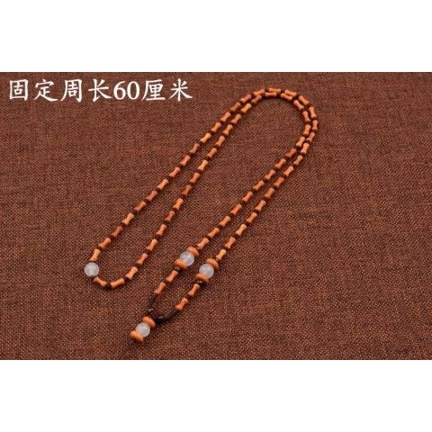 Kelas Atas Zaitun Pit Kerajinan Menenun Kalung Pengikatan Kristal Giok Dipakai Jadeite untuk Mourn untuk Fall untuk Menggantung hiasan Tali untuk Menggantungkan Tali Pria dan Wanita-Internasional 2